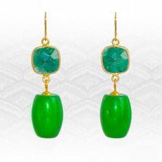 Item: Jade and carat Emerald Classic Style Earrings Regenz Brand: Yellow Gold Gemstones: Emerald, Jadeit. on Mar 2018 Imperial Jade, Stone Jewelry, Classic Style, Emerald, Drop Earrings, Jewels, Gemstones, Gold, Auction
