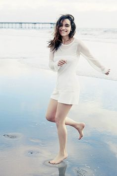Emilia Clarke-WSJ. Magazine- February 2014