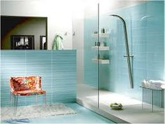 Image result for soft blue bathroom