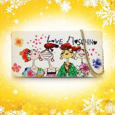 Moschino Advent Calendar Day 7!   ♥ Love is the best gift!  ♥ #moschino #bag