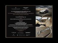 Aston Martin Vanquish Preview @ Stratstone of Mayfair 2014 - Elizabeth James Art - YouTube New Aston Martin, Aston Martin Vanquish, Elizabeth And James, Auto Racing, Drag Racing, Pagani Zonda, Lamborghini Veneno, Maserati, Helmets