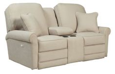 Check out what I found at La-Z-Boy! Addison PowerRecline La-Z-Time® Full Reclining Loveseat w/ Console
