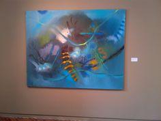 inocencia el mayor tesoro Aquarium, Fish, Abstract, Pets, Painting, Animals, Blue, Oil On Canvas, Canvases