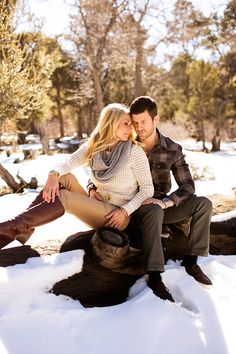 Imagine Design   » Our Big Bear Engagement Session with CHARD Photographer