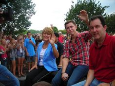 Scotty's mom Judy and dad Mike!