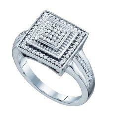1/5CT-Diamond MICRO-PAVE RING