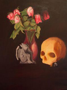 Memento Mori Still Life by Fullmoon-rose on DeviantArt