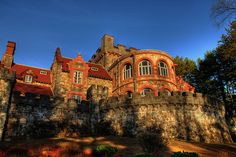1915 Searles Castle in Windham, New Hampshire.