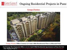 Ganga Platino Offers Luxury 2, 3 And 4 Bhk Residential Flats in Kharadi Pune
