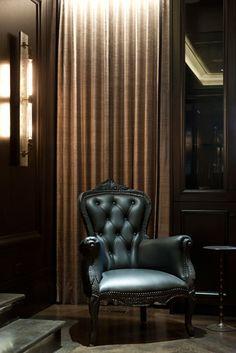Every man deserves a good chair,  but a cigar chair isn't a right,  it's a privilege.