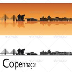 Copenhagen Skyline  #GraphicRiver         Copenhagen skyline in orange background in editable vector file     Created: 15May13 GraphicsFilesIncluded: VectorEPS Layered: No MinimumAdobeCSVersion: CS Tags: Copenhagen #architecture #backgrounds #black #building #city #cityscape #denmark #destination #downtown #europe #horizon #illustration #isolated #landmark #landscape #metropolis #orange #outline #panorama #place #reflected #silhouette #skyline #skyscraper #tower #travel #urban #vector #white