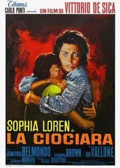 La ciociara - film di Vittorio De Sica, 1961 con Sofia Loren, Jean Paul Belmondo, Raf Vallone, Eleonora Brown