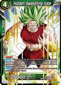Hidden Awakening Kale Dbz, Dragon Ball, Manga Games, Jouer, Jojo's Bizarre Adventure, Game Character, Kale, Awakening, Card Games