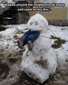 best. snowman. ever.