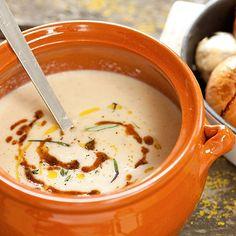 Roast onion soup