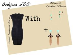 Styling a Little Black Dress- with Willow Jewellery Blog Images, Rain Drops, Jewellery, Dress, Black, Style, Fashion, Swag, Moda