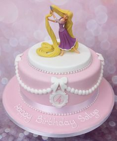 The Cake Store - Rapunzel Cake, £79.00 (https://www.thecakestore.co.uk/rapunzel-cake-1/)