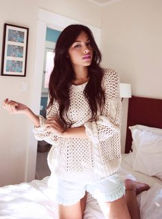 Crushing on dRA Clothing SS13  #Knitwear #Sweaters #Shorts