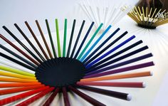 Michael Cornelissen's Brilliant Bowls Made From Colored Pencils