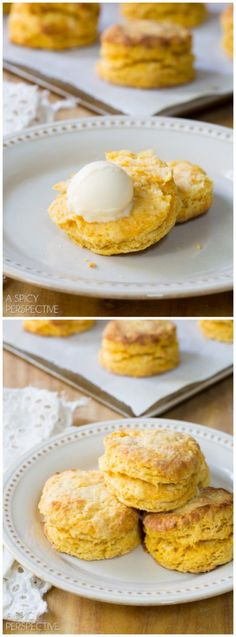 Best Ever Sweet Potato Biscuits! Light Flaky and Moist. #biscuits #sweetpotato #holiday