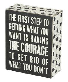 Loving this 'The First Step' Wall Sign on #zulily! #zulilyfinds