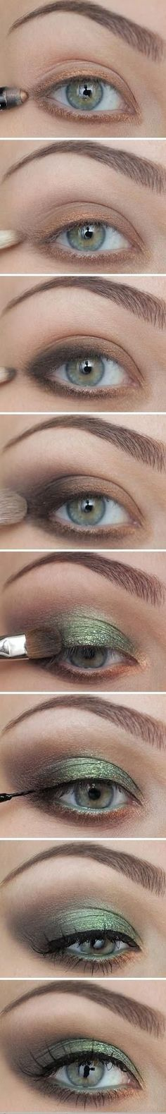 DIY Eye Makeup Tutorial Pictures, Photos, and Images for Facebook, Tumblr, Pinterest, and Twitter