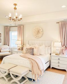 Master Bedroom Decor: a Cozy & Romantic Master Bedroom. omantic master bedroom with white tufted bed, linen duvet, soft curtains master bedroom makeover, white tufted [. Dream Master Bedroom, Romantic Master Bedroom, Farmhouse Master Bedroom, Master Bedroom Makeover, Master Bedroom Design, Home Bedroom, Modern Bedroom, Contemporary Bedroom, Master Bedrooms