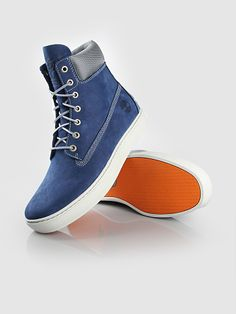 TIMBERLAND 6 Cupsole Blue   http://www.frontrunner.nl/timberland-6_blauw-grijs_11927.html  #blue #timberland #cupsole #shoes