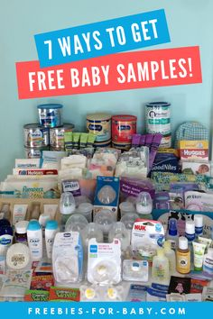 7 Easy Ways to Get Free Baby Samples – 2019 I got 153 free baby samples with very little effort. Take a look at the 7 easy ways you can get baby samples. You'll be surprised how easy it is to get free baby items! Free Stuff By Mail, Get Free Stuff, Free Baby Stuff, Babies Stuff, Cheap Baby Stuff, Freebies By Mail, Baby Freebies, Lps, Free Baby Items