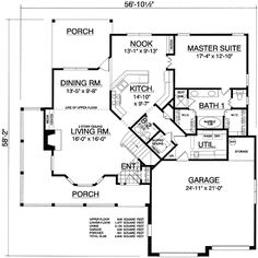 ❤❤❤❤❤ Charming Country Design - 74052RD | Architectural Designs - House Plans