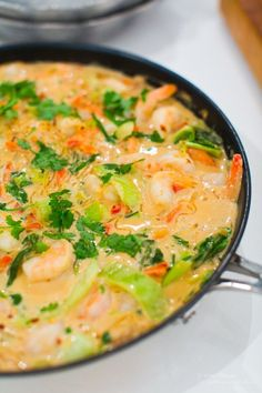 Prawn I kokos mjölk Seafood Recipes, Cooking Recipes, Enjoy Your Meal, Asian Recipes, Healthy Recipes, Pak Choi, Clean Eating, Healthy Eating, Junk Food