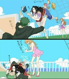 Winning in strip poker zoro and robin luffy and nami zoro x robin pinterest luffy x - One piece luffy x robin ...