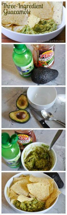 3 ingredient guacamole