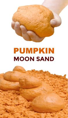 Fall Crafts For Kids, Kids Crafts, Autumn Crafts, Holiday Crafts, Pumpkin Crafts, Pumpkin Recipes, Fall Recipes, Diy Moon Sand