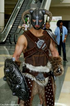 Superb skyrim cosplay