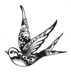Imagens de Tatuagens de Pássaros: Significados, Desenhos, Fotos