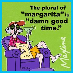 """The plural of """"margarita"""" is """"damn good time."""""""