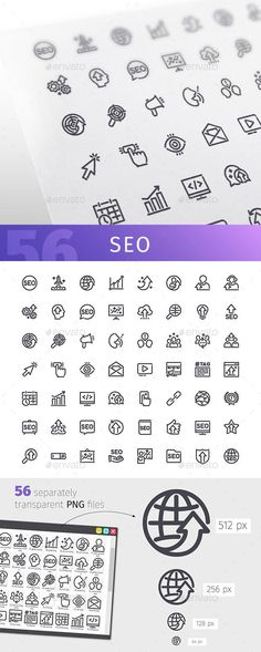 Buy SEO Line Icons Set by Voysla on GraphicRiver. Description Set of 56 search engine business optimization line icons suitable for ui, web, infographics and apps. Typography Design, Logo Design, Photoshop Shapes, Simplistic Tattoos, Simple Icon, Business Icon, Line Icon, Make Me Happy, Website Template