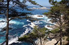 Big Sur is located along scenic Highway one in California