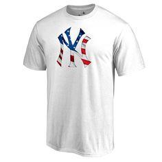 New York Yankees Banner Wave II T-Shirt - White
