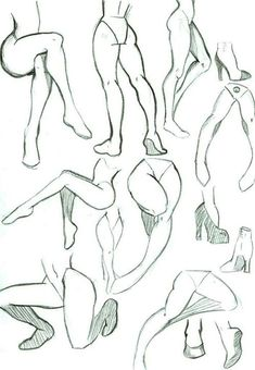 Imagen de anime and legs art poses, drawing body poses, drawing legs, drawi Drawing Legs, Drawing Body Poses, Manga Drawing, Drawing Anime Bodies, Human Body Drawing, Body Sketches, Drawing Sketches, Sketching, Art Drawings