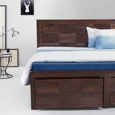Elmwood London King Box Bed With Drawers Wenge - Add oodles of style to your home with an exciting range of designer furniture, furnishings, decor items and kitchenware. We promise to deliver best quality products at best prices.