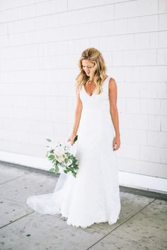Simple, but stunning: http://www.stylemepretty.com/2014/10/21/pastel-glamour-in-santa-monica/ | Photography: Paige Jones - http://www.paigejones.us/