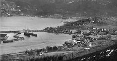 Fra Bergen - Gamle Nygårdsbro/BMV Solheimsviken - Ukjent årstall. Foto: Ralph.L. Wilson.