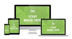 Apple Devices Mockup Template - Mediamodifier - Online mockup generator