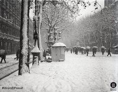 Rambla de Barcelona 1914. Foto: Frederic Juandó Alegret. Diputació de Barcelona + imatges flickr.com/arxiuspal / diba.cat/spal