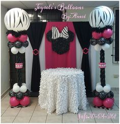 Minne Zebra Decoration!