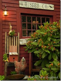 Walker Homestead-Adding antiques into the garden, just does something to my soul!!!!