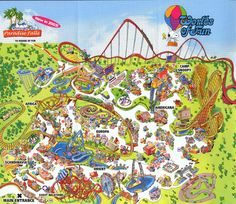 Worlds of Fun Kansas City, Missouri Here in Sept 2003 & and again in 2004 Kansas City Map, New Roller Coaster, Paw Patrol Birthday Theme, Los Angeles With Kids, City Zoo, Africa Destinations, Map Pictures, City Wallpaper, Amazing Adventures