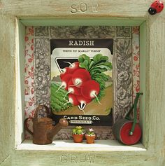 Sow and Grow ~ Shadow Box